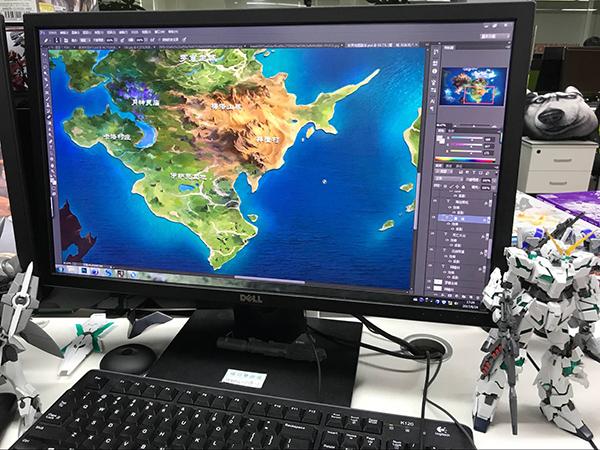 今天没空震惊了 《天堂之光》世界地图大曝光资讯生活